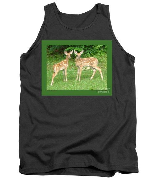 Two Little Deer Tank Top
