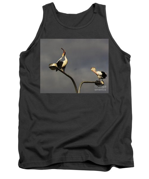 Tank Top featuring the photograph Two On A Pole by Blair Stuart