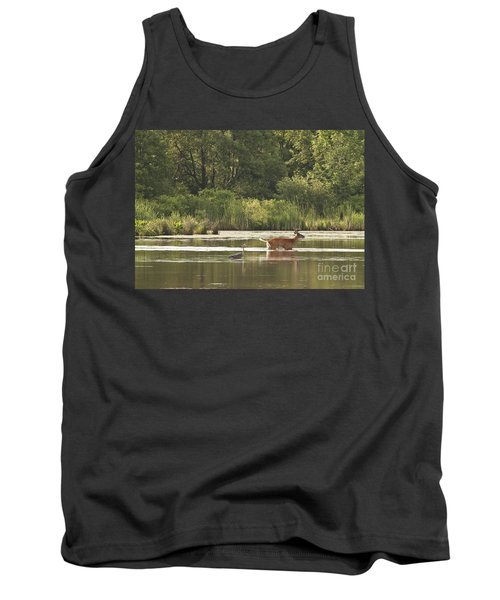 Tank Top featuring the photograph Unusual Pair  by Jeannette Hunt