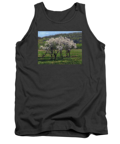 Valley Plum Thicket Tank Top by Bruce Morrison