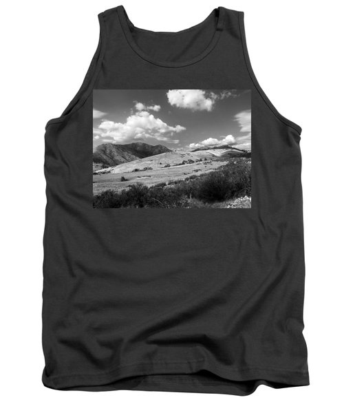 Tank Top featuring the photograph View Into The Mountains by Kathleen Grace