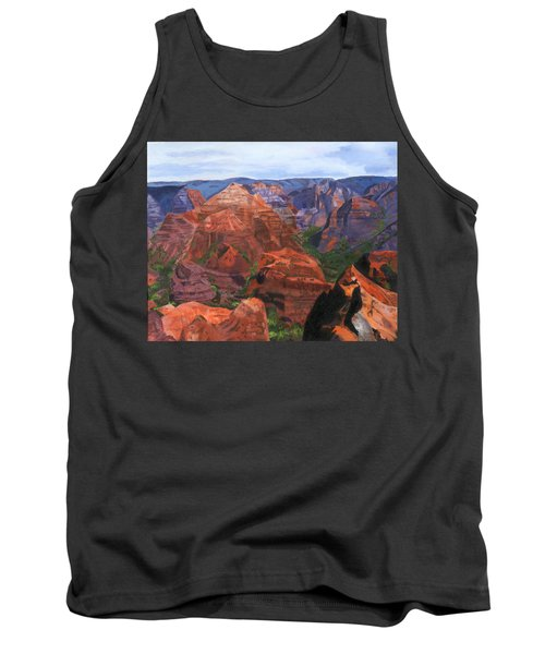 Waimea Canyon Tank Top