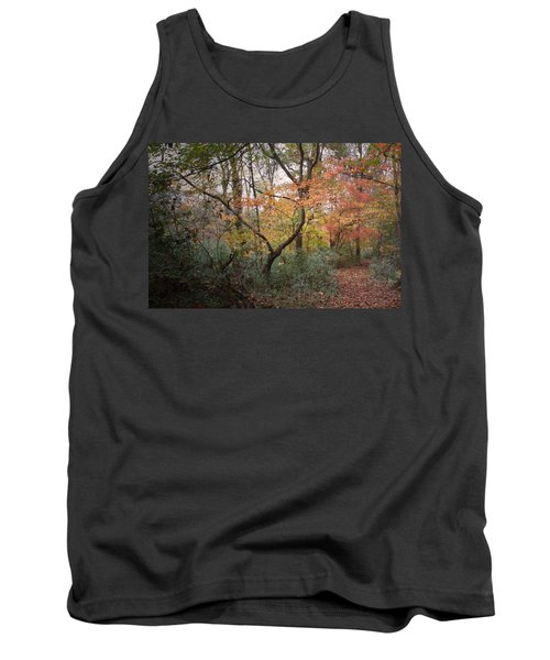 Walk Of Change Tank Top by David Troxel