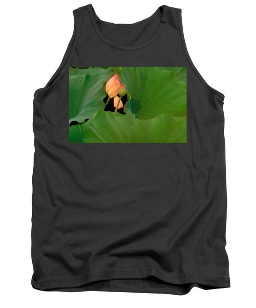 Water Lily Tank Top by Mark Greenberg