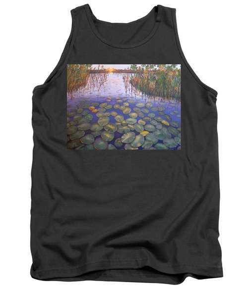 Waterlillies South Africa Tank Top