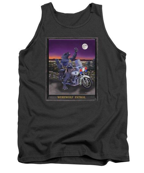 Werewolf Patrol Tank Top by Glenn Holbrook