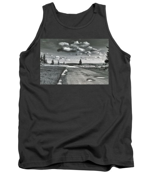 Tank Top featuring the photograph Winding Road by Mary Almond