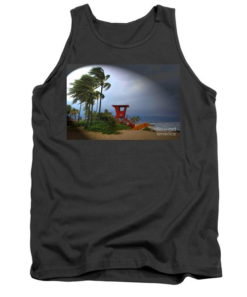 Windy Day In Haleiwa Tank Top by Mark Gilman