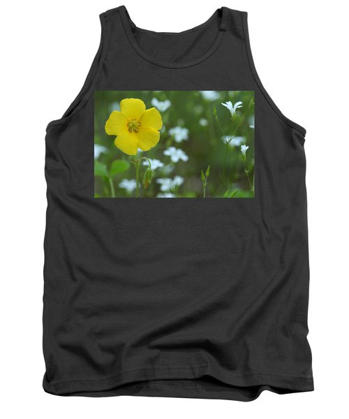 Wood Sorrel And Sandwort Tank Top