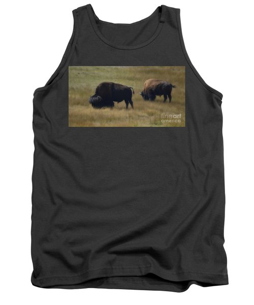 Wyoming Buffalo Tank Top