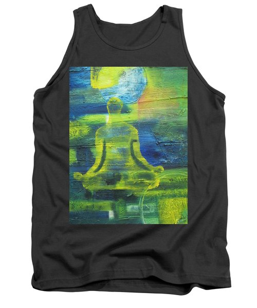 Yoga Textured Canvas Series I Tank Top by Patricia Cleasby