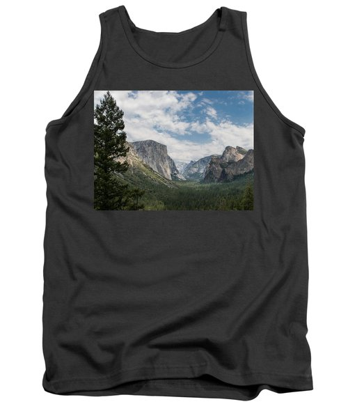 Yosemite Valley From Tunnel View At Yosemite Np Tank Top