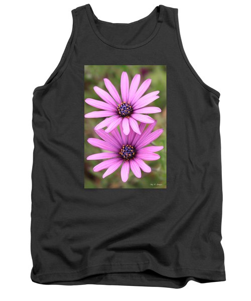 Tank Top featuring the photograph You And Me  by Amy Gallagher