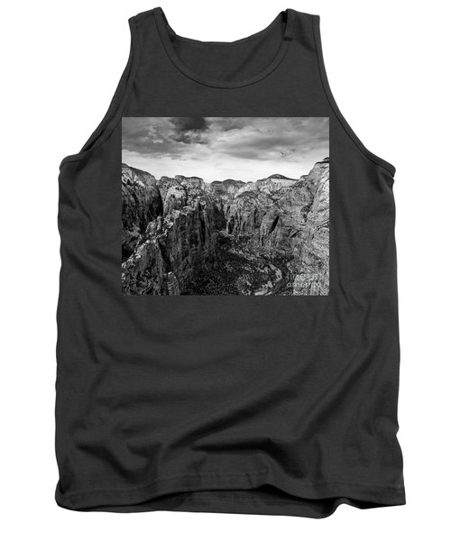 Zion National Park - View From Angels Landing Tank Top