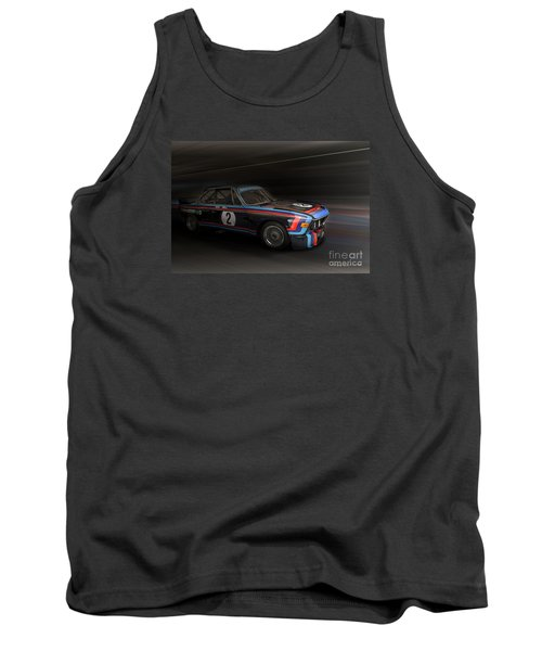 1974  Bmw 3.0 Csl Batmobile Tank Top by Roger Lighterness