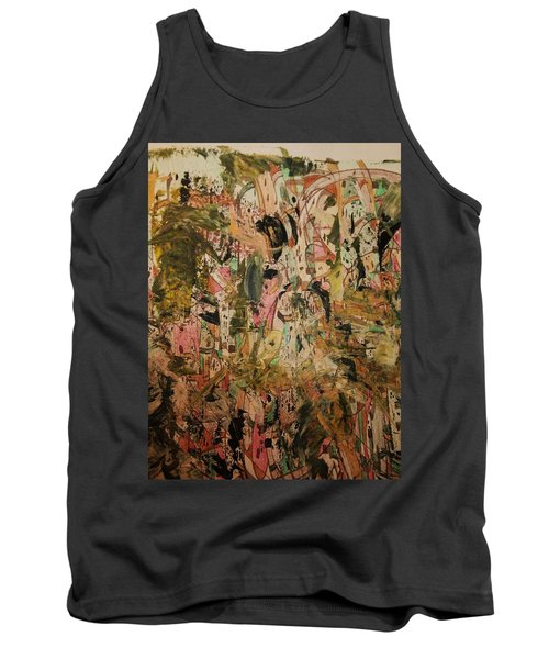 Tank Top featuring the painting  A Taste Of Italy by Nancy Kane Chapman