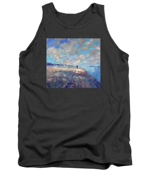 Tank Top featuring the painting  Eternal Wanderers by Anastasija Kraineva