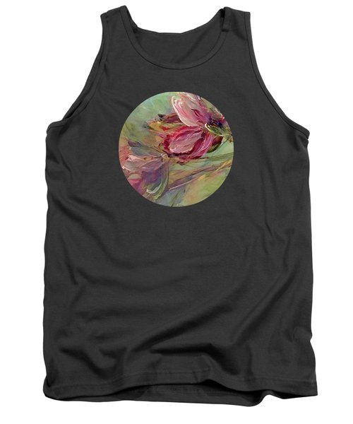Flower Blossoms Tank Top by Mary Wolf