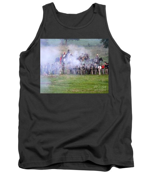 Gettysburg Confederate Infantry 7503c Tank Top