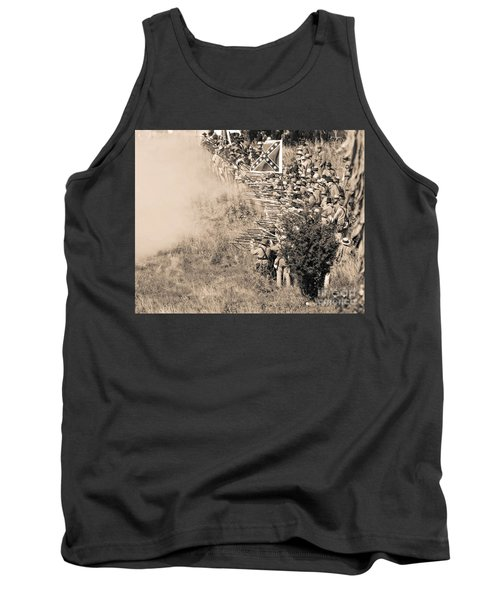 Gettysburg Confederate Infantry 8769s Tank Top
