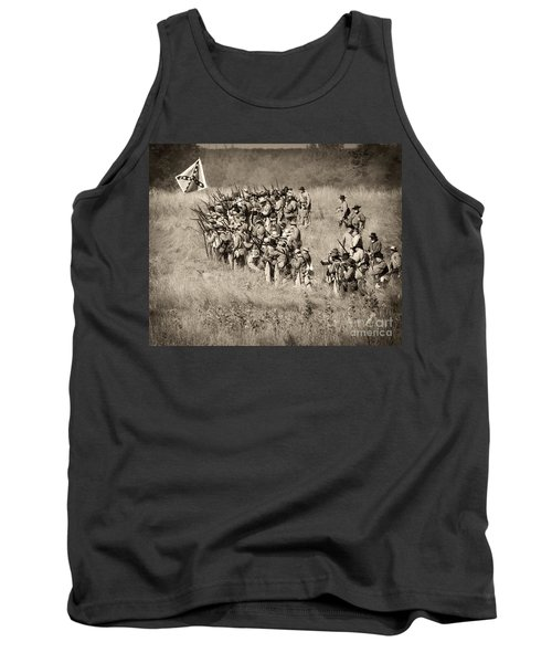 Gettysburg Confederate Infantry 9015s Tank Top