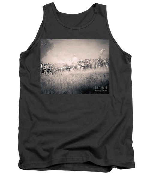 Gettysburg Confederate Infantry 9112s Tank Top