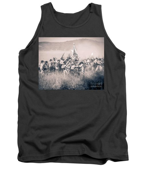 Gettysburg Confederate Infantry 9214s Tank Top