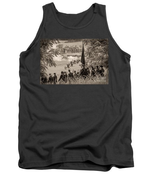 Gettysburg Union Artillery And Infantry 7457s Tank Top