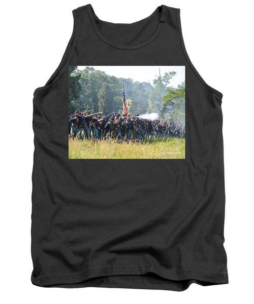 Gettysburg Union Infantry 9372c Tank Top