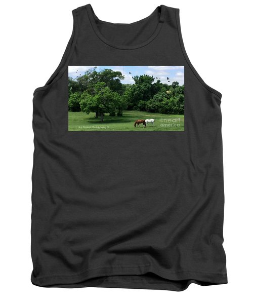 Mr. And Mrs. Horse - No. 195 Tank Top