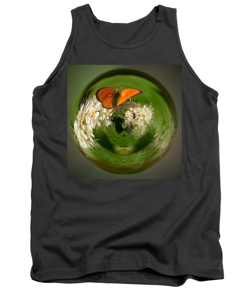Tank Top featuring the photograph  Scarce Copper 3 by Jouko Lehto