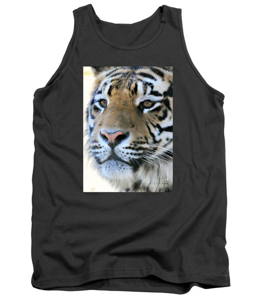 Tiger Portrait  Tank Top by Mindy Bench