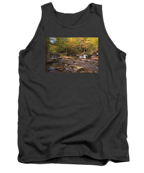 Tank Top featuring the photograph  Watching The Waters Meet by Gene Walls