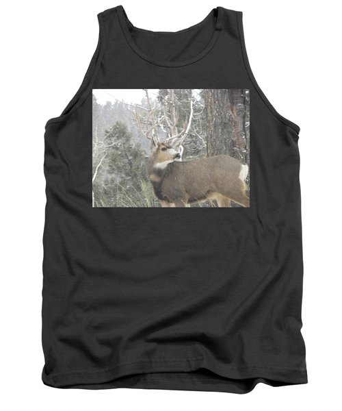 Buck Front Yard Divide Co Tank Top