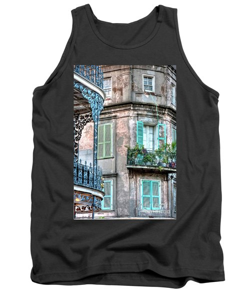 0254 French Quarter 10 - New Orleans Tank Top