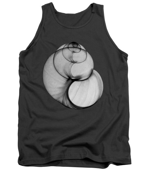 X-ray Photo Of Fresh Water Pond Snail Tank Top