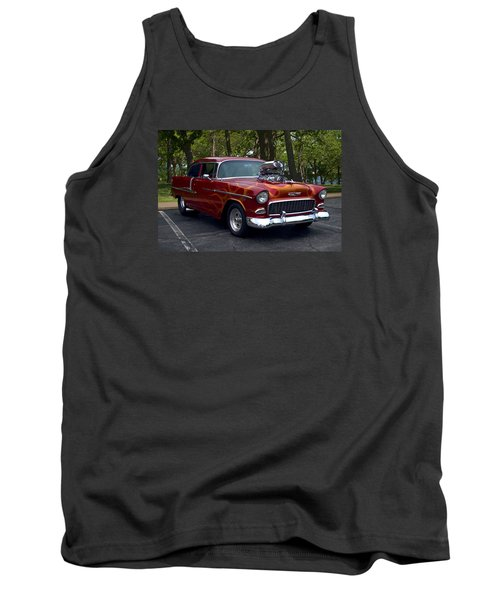 1955 Chevrolet Dragster Tank Top
