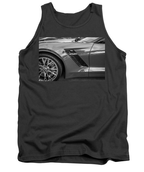 2015 Chevrolet Corvette Z06 Painted  Tank Top