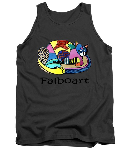 A Cat Named Picasso Tank Top