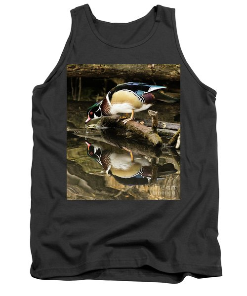 A Sip For You And Me Wildlife Art By Kaylyn Franks Tank Top