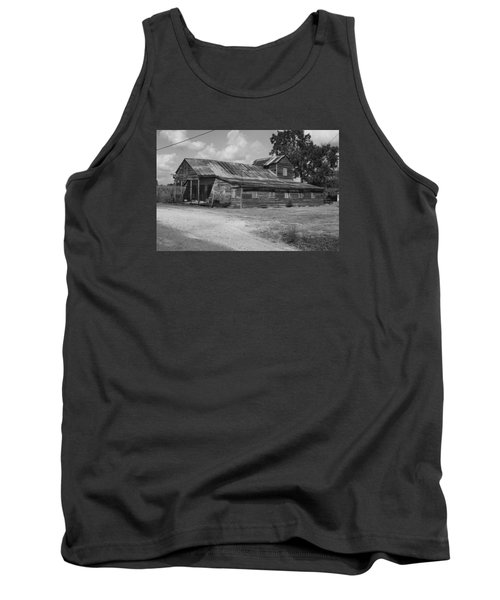 Abandoned Grocery Store Tank Top by Ronald Olivier