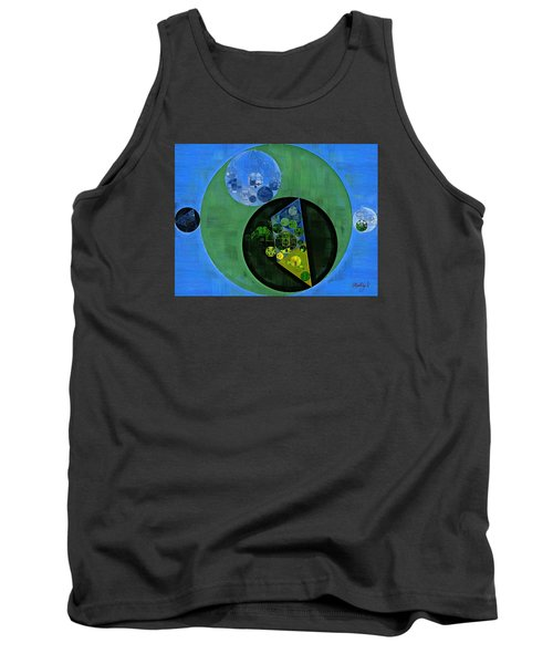 Tank Top featuring the digital art Abstract Painting - Amazon by Vitaliy Gladkiy