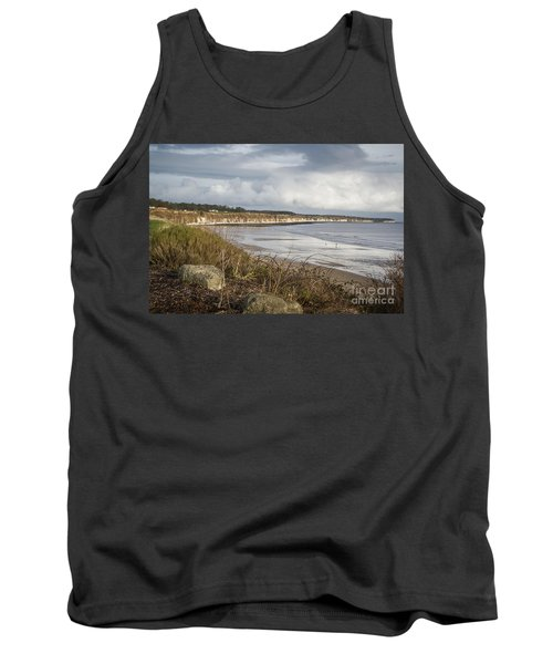 Across The Bay Tank Top by David  Hollingworth