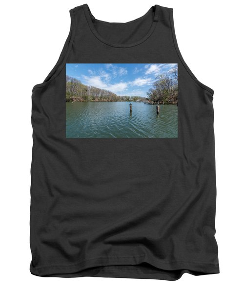 Tank Top featuring the photograph Weems Creek Annapolis, Md by Charles Kraus
