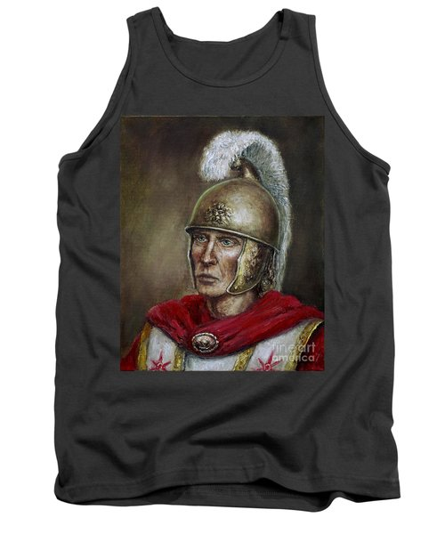 Alexander The Great Tank Top by Arturas Slapsys
