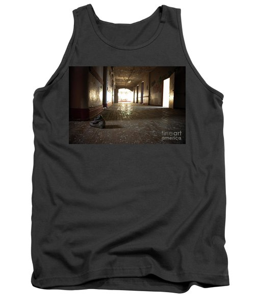Tank Top featuring the photograph Alone by Randall Cogle