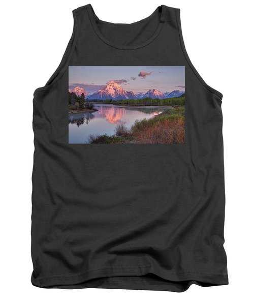 Alpenglow At Oxbow Bend Tank Top