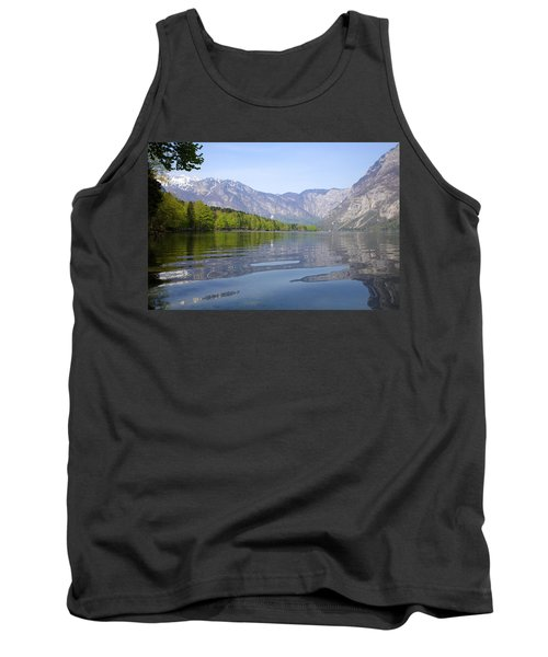 Tank Top featuring the photograph Alpine Clarity by Ian Middleton