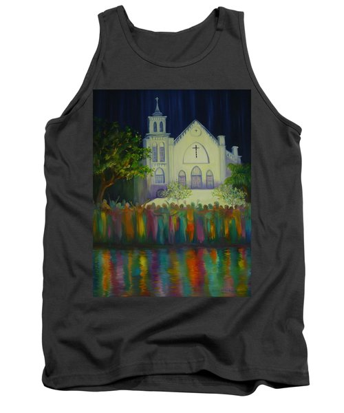 Amazing Grace Tank Top by Dorothy Allston Rogers