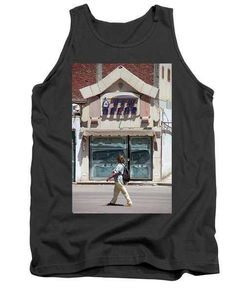 And There Tank Top by Jez C Self